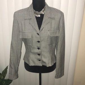 Jackets & Blazers - Vintage houndstooth jacket